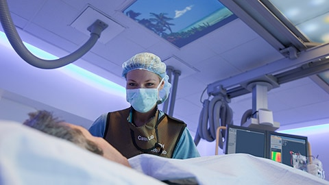 Re-visualize the interventional environment
