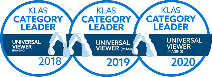 three years klas category leader icons