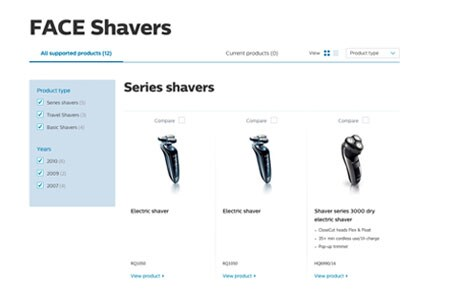 face-shavers